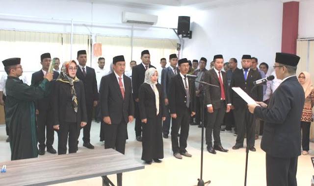 Nur Putriyana Alang, Dilantik Sebagai Kasubag Hukum KPU Selayar