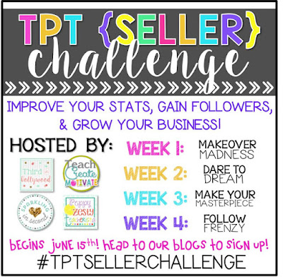 TpT Seller Challenge: Makeover Madness (Week 1)