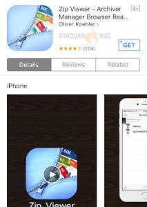 Zip Viewer iPhone dan iPad