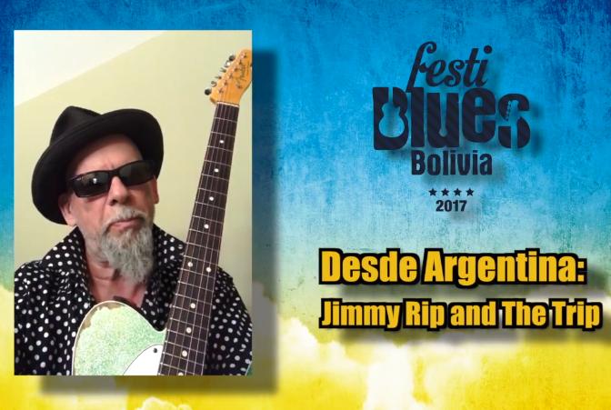 Jimmy Trip nació en Nueva York pero radica desde 2010 en Buenos Aires