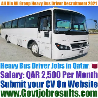 Ali Bin Ali Group Heavy Bus Driver Recruitment 2021-22