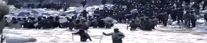 China's Video of Galwan Valley Clash Showcases Indian Army Captain's Bravery
