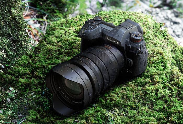 Объектив Panasonic Leica DG Vario-Summilux 10-25mm f/1.7 Asph. с камерой Panasonic Lumix G9