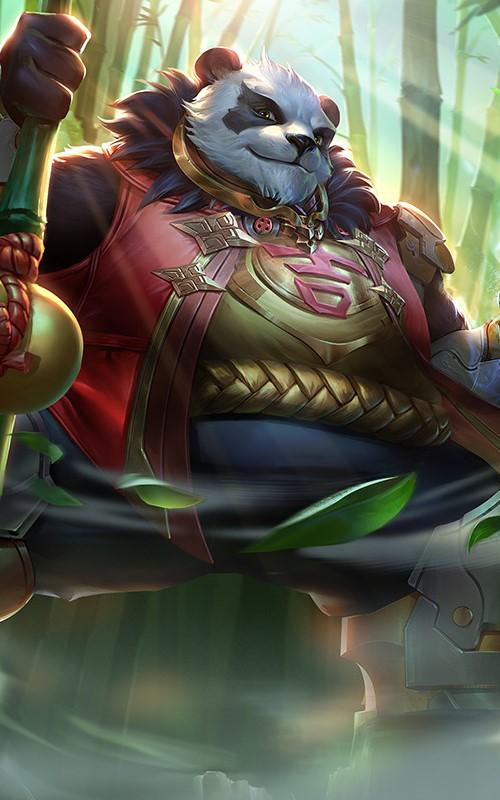 Các trang bị cân xứng giúp Zuka phát huy hết sức mạnh của bản thân mình