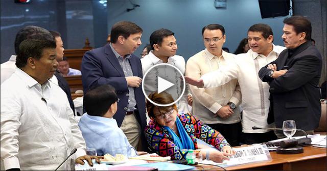 Nang dahil kay Sen. De Lima  Nagkagulo ang mga Senador on House show cause order !