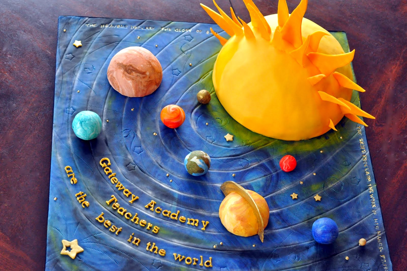 Images of How To Make A Solar System Model For Science