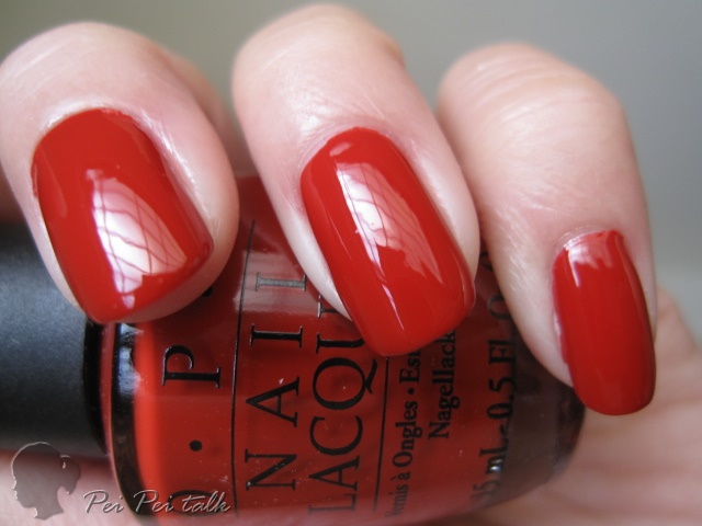 OPI-A55 - Off with Her Red!