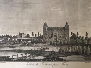 Castello del Valentino nell'800