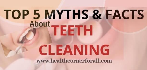 TOP 5 MYTHS AND FACTS ABOUT TEETH CLEANING | क्या  दाँतों की सफाई  कराने से होता है नुकसान ??