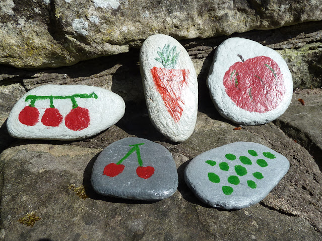 Pebble Painting with Children