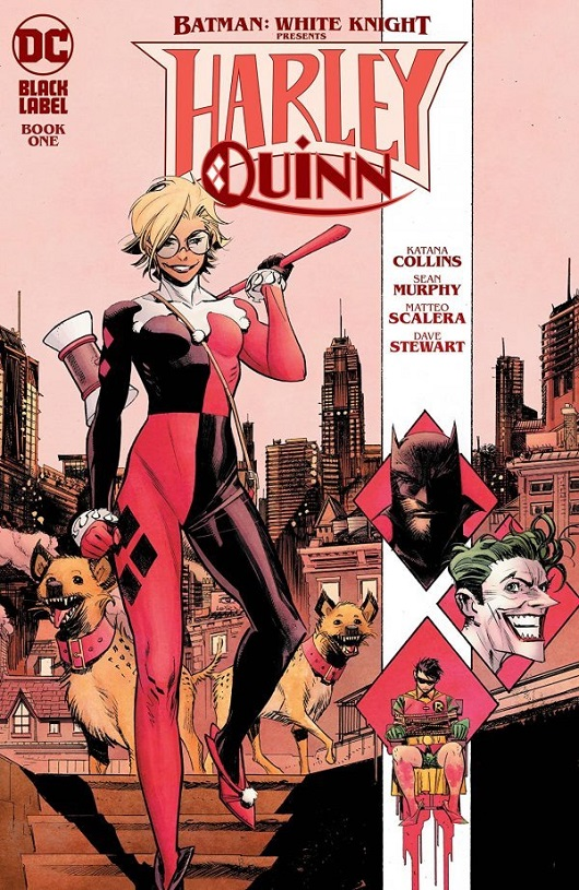 Cover of Batman White Knight Harley Quinn #1