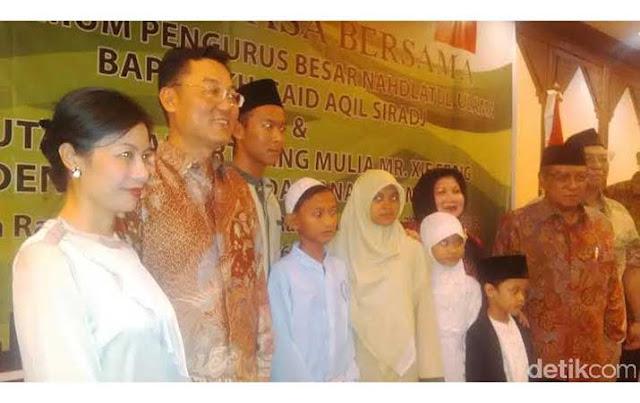 Said Aqil Sebut China juga NU, CEO AMI Foundation: China Ganggu Umat Islam dan Umat Lain!
