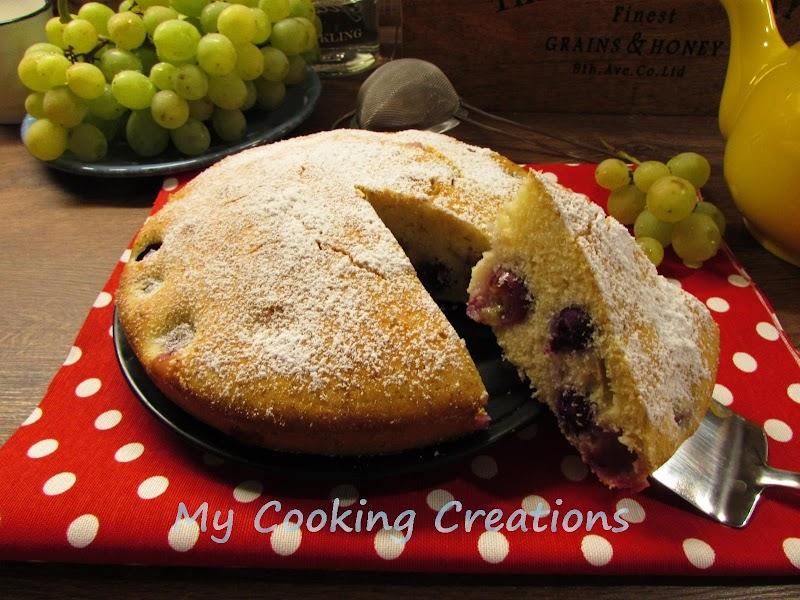 Торта Бертолина с червено грозде * Torta Bertolina con uva fragola