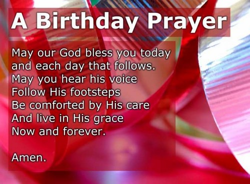 Bible Verses for Birthdays Blessing