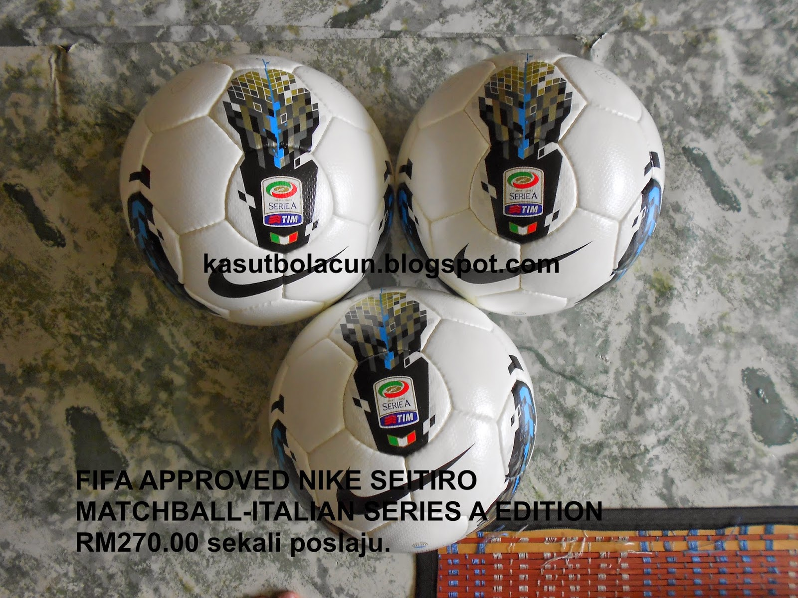 FIFA APPROVED NIKE SEITIRO MATCHBALL-ITALIAN SERIES A EDTION