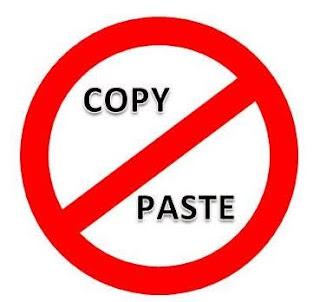 Anti copy paste - teknik dan cara