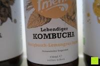 Honigbusch-Lemongras-Ingwer: fariment - 3 Liter Original Bio Kombucha Tee Getränk natürlich fermentiert und nicht pasteurisiert / Rohkost (3er Mix)