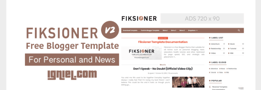 Download Template SEO Blogger Free