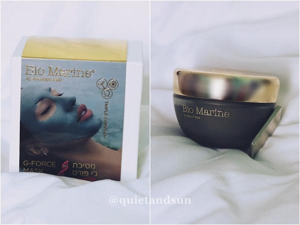 Ciekawostka kosmetyczna - maseczka magnetyczna Bio Marine