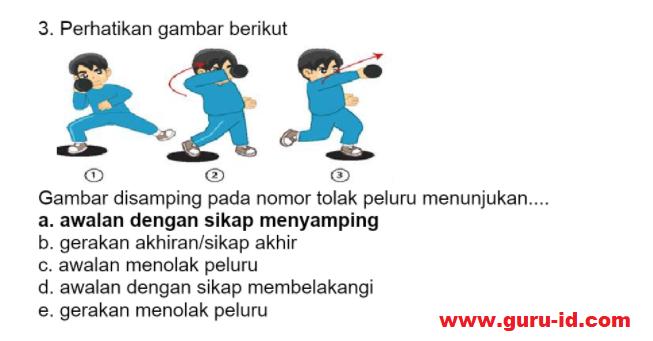 gambar Kunci Jawaban Soal Reviu Pembelajaran 2 PJOK Seri PPPK