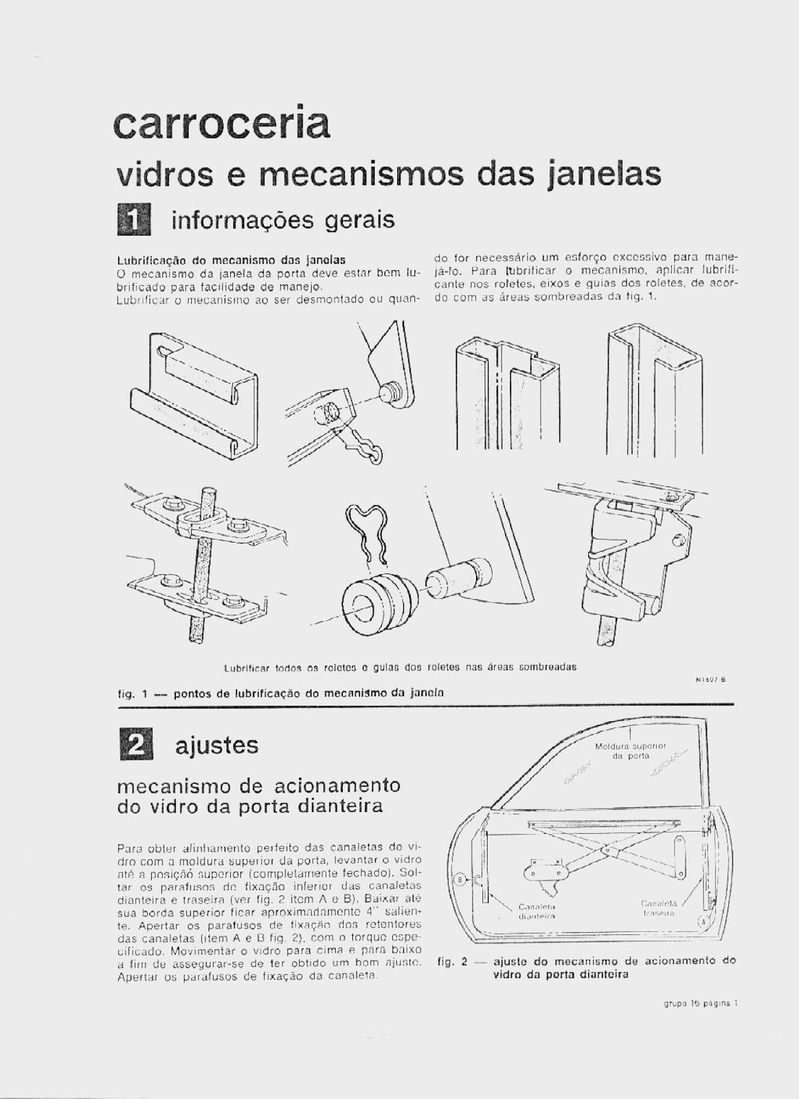 MANUAIS DO PROPRIETÁRIO: MANUAL MECÂNICO FORD MAVERICK