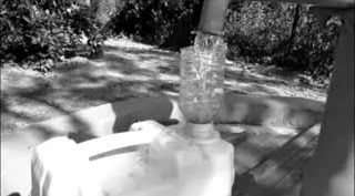botol plastik bekas untuk corong