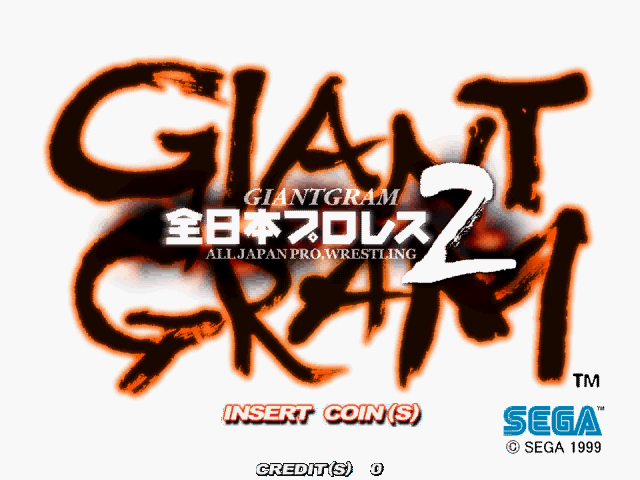 Giant Gram All Japan Pro Wrestling 2 Rom