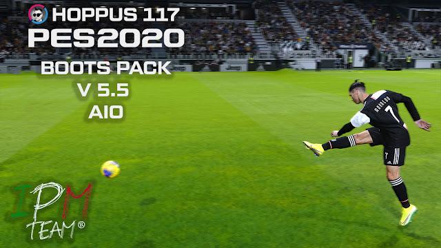 PES 2020 Hoppus117 Boots Pack V 5.5