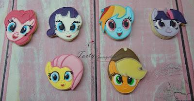 ciasteczka kucyk pony
