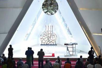 Heboh, Masjid yang Dirancang Ridwan Kamil Mirip Simbol Iluminati