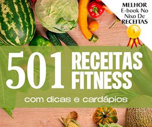 E-book 501 Receitas Fitness