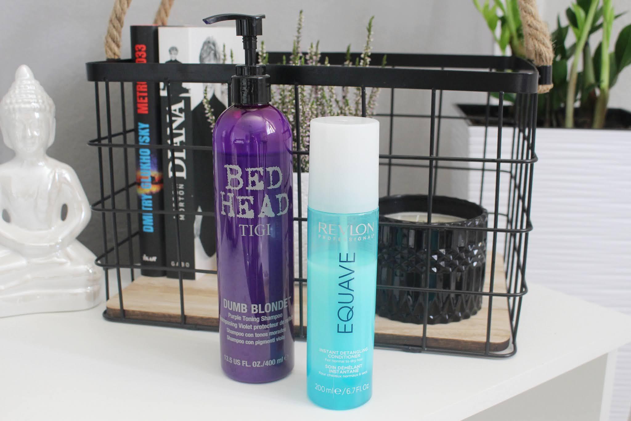vlasová kozmetika, Notino, recenzia, blog, Revlon, Tigi, shampoo