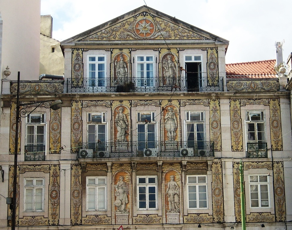Ruas de lisboa com alguma hist ria largo rafael bordalo for Casa dos azulejos lisboa