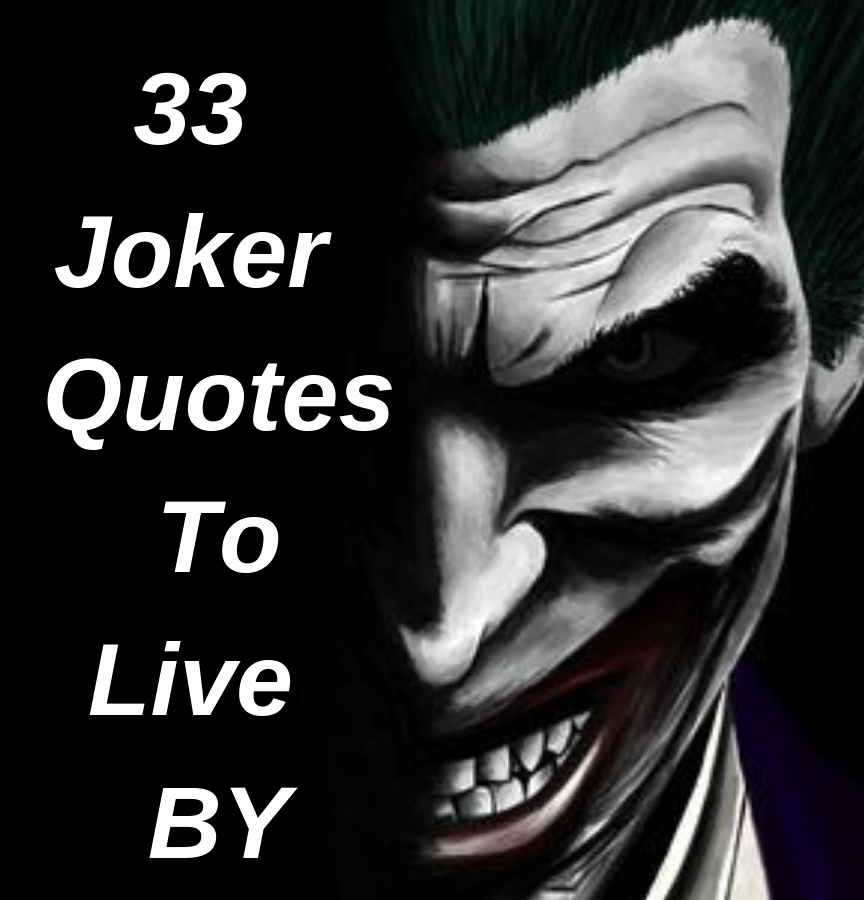 joker quotes to fill you craziness