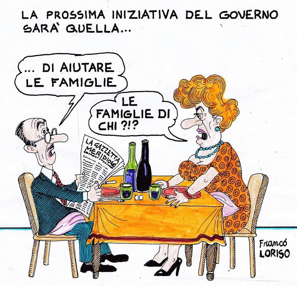 La 'Vignetta del Giorno' - di Franco Loriso