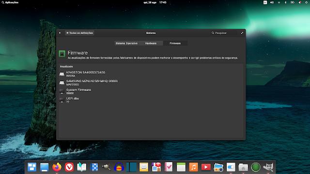 Firmware agora são melhor gerenciados no Elementary OS 6