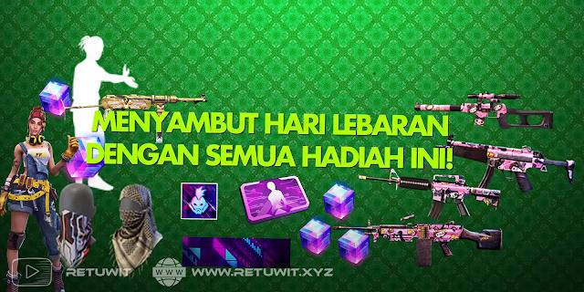 Event Free Fire terbaru Booyah Ramadhan Lebaran Hadiah Magic Cube