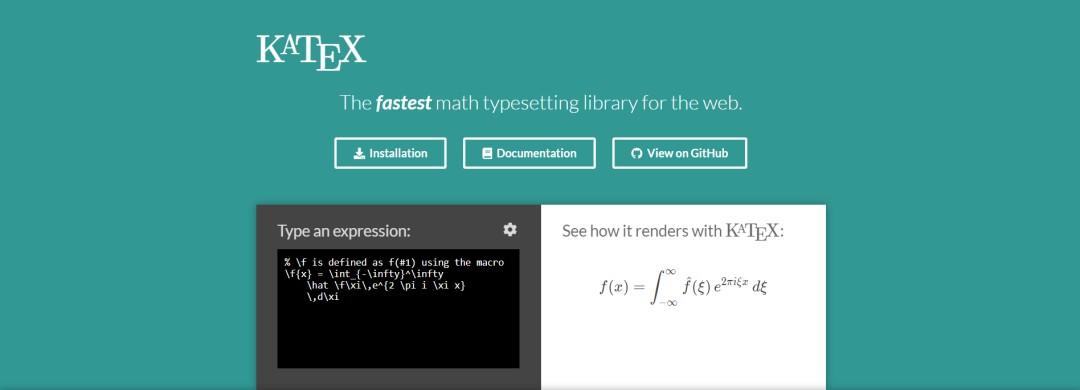 menulis rumus matematika di blog dengan katex