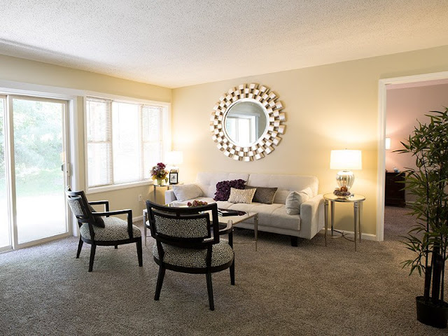 Contemporary Single - Family House - The Calem Rubin Residence Contemporary Single - Family House - The Calem Rubin Residence 4 Living Room