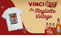 """Concorso """"Peroni  175° - Edizione Anniversario"""" : ogni ora vinci la Maglietta Vintage ( 1204 premi)"""