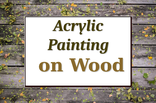 A step by step detailed guide on how to paint on wood using acrylic paint with brush and roller. Best practice for sanding and repainting