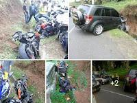 Viral Pemoge Tew*s Tabrakan di Sukabumi, Begini Faktanya