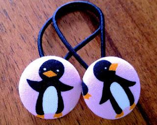 Penguin hair accessories