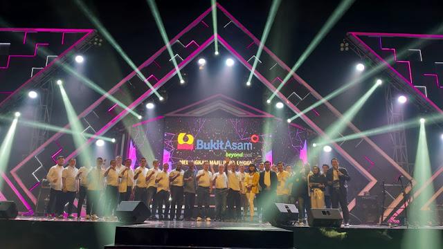 PTBA Menggelar Acara Malam Tutup Tahun 2019, Bertemakan Melangkah Maju PTBA Unggul
