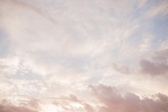peach sky