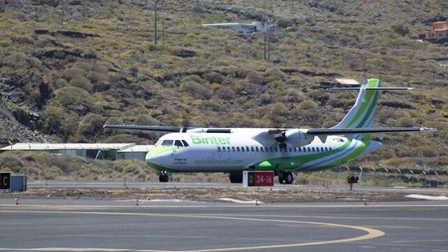 Binter recibe un nuevo avión ATR 72-600