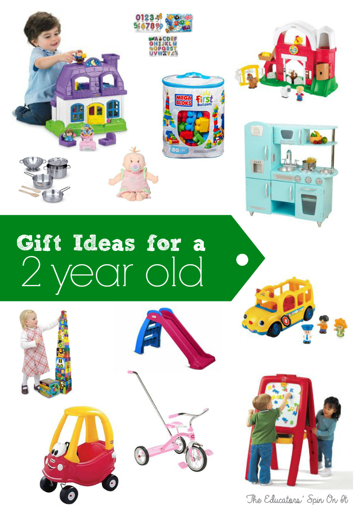 Gift Ideas For A Two Year Old From The Educators Spin On It