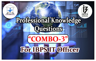 """IBPS IT Officers Professional Knowledge Quiz """"COMBO-3"""""""