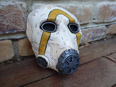 Borderlands 3 Psycho Mask Prop