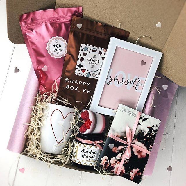 Uma caixa com tudo o que a mãe  gosta é um super presente e não precisa custar muito